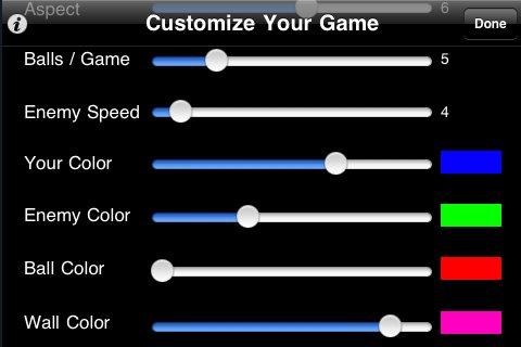 Screenshot PongXtreme – Custom 3D Game